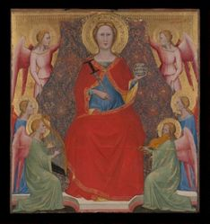 Saint Lucy Enthroned