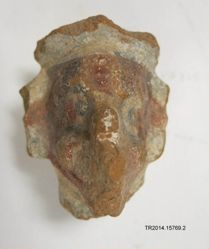 Figurine fragment of the Wind God