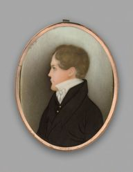 Young Gentleman Facing Left