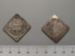 12 1/2 Stuivers (Siege Coinage) of the United Netherlands from Groningen and Ommeland