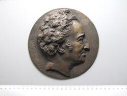 Bronze plaque of W. Sidney Smith