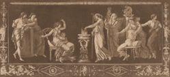 Scène de Sacrifice (Antique Sacrifice), from Recueil de Différentes Compositions Frises et Ornements dessinées et gravées à la manière du lavis par La Grenée le Jeune