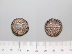 Silver half-groat of Martin I from Barcelona