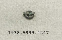 Bronze ring shaped fragments