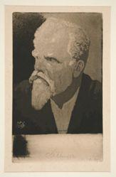 Selbstbildnis mit Zigarre (Self-Portrait with Cigar)
