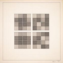 Grids I, II, III, IIII /1B