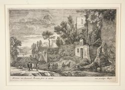 Landscape with a Hospital