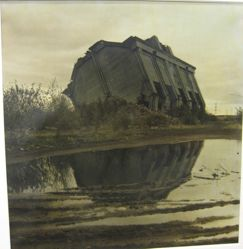 Collapsing Building, from the series Satellite