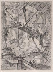 The Drawbridge, from Carceri d'Invenzione (Imaginary Prisons)