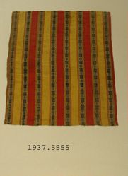 Piece of compound cloth with satin