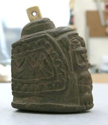 Incised Flask