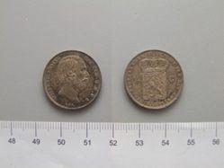 1/2 Gulden of William III of the Netherlands