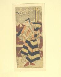 Actor Sawamura Sojuro III