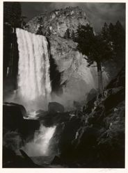 Vernal Fall, Yosemite Valley, California, from What Majestic Word