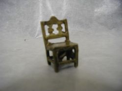 Goldweight in the form of a Chair