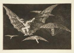 Modo de volar (A Way of Flying), pl. 13 from the series Los proverbios