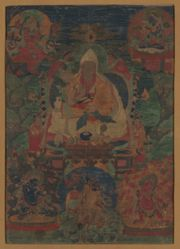 Portrait of the Fifth Dalai Lama