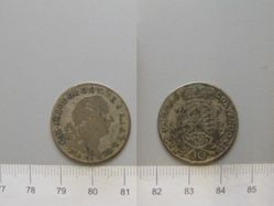 10 Kreuzer of Charles Theodore from Mannheim