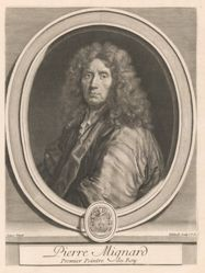Gérard Edelinck, Pierre Mignard, from the book Les hommes illustres . . . , vol. II, by Charles Perrault