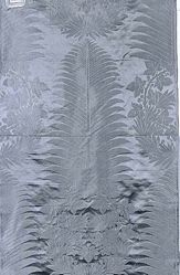 Reproduction of fancy satin designed for the Library of Napoleon I at St. Cloud