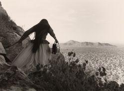 Mujer ángel, Desierto de Sonora (Angel Woman, Sonoran Desert)