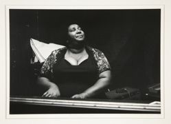 Beverly Stovall Playing the Blues