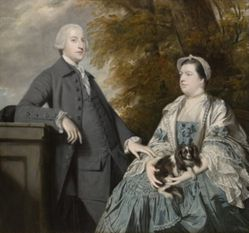 Portrait of Mr. and Mrs. Godfrey Wentworth