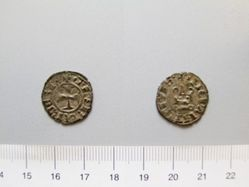 Billon denier of Philip I from Tarentum