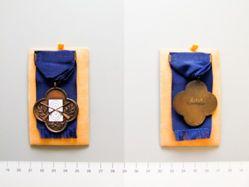 Third Prize Rifle Championship Medal