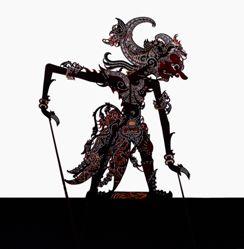 Shadow Puppet (Wayang Kulit) of Antareja