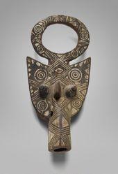 Mask Representing a Hippopotamus (Kodu)