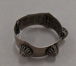 Bracelet with Filigree Domes