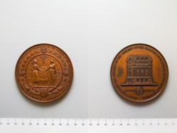 Medal Commemorating the Opening of the Building of the Chamber of Commerce of the State of New York