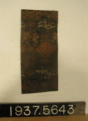 Fragment of a silk double cloth