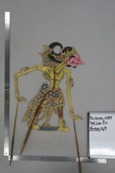 Shadow Puppet (Wayang Kulit) of Kencakurupa, from the set Kyai Drajat