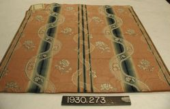 Reproduction of Louis XV compound fancy satin