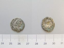 Silver of Gaiseric, imitating silver of Honorius from Ravenna
