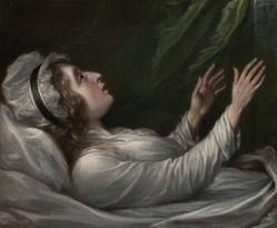 Sarah Trumbull on Her Deathbed
