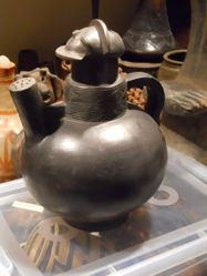 Water Vessel with Mask-like Lid (Mulondo)