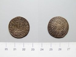 Silver groschen of Sigismund I of Poland from West Prussia