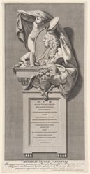 Memorial to Nicolas Vleughels