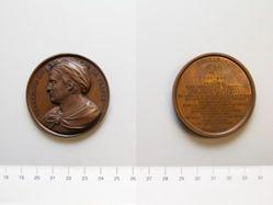 Bronze medal of Pharamond Roi