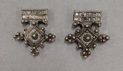 Pair of Trident Pendants (Walata-Idge)