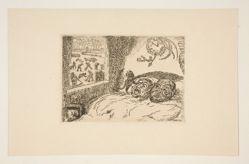 La paresse (Sloth), from the portfolio Les péchés capitaux (The Deadly Sins)