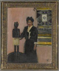 Portrait of Manet Helen Fowler (1916–2004)