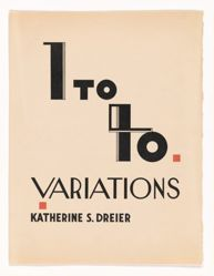 Forty Variations [Title Page, Introduction, Photo-offset reproduction showing Shawn Dancers; Title sheet and xerox of Jess Meeker music score]