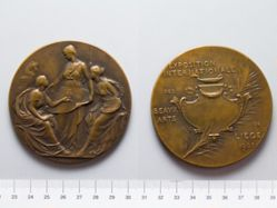 Bronze Medal from Belgium of Liège Exhibition