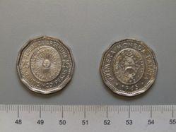 25 Pesos of the Republic of Argentina