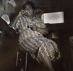 Lady Lighting a Cigarette, Harlem