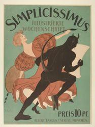 Simplicissimus, Illustrierte Wochenschrift (Simplicissimus, Illustrated Weekly)